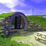 cabaña estilo Hobbit en Irlanda